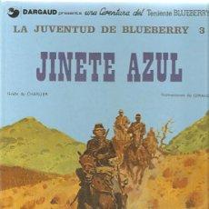 Cómics: JINETE AZUL - LAS AVENTURAS DEL TENIENTE BLUEBERRY - GIRAUD / CHARLIER - GRIJALBO. Lote 33155519
