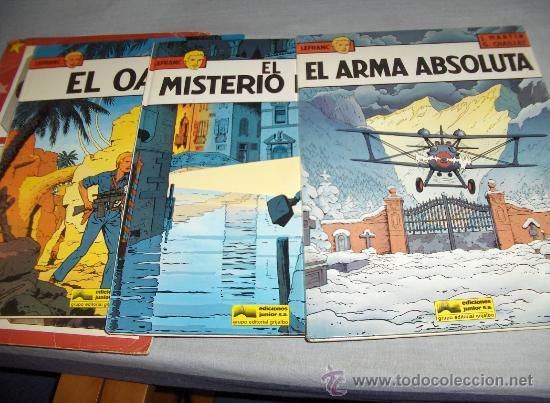 LEFRANC COMPLETA 10 NºS. GRIJALBO AÑOS 80. DIFÍCIL BUEN ESTADO Y GENERAL!!!!!!!!!!! (Tebeos y Comics - Grijalbo - Lefranc)