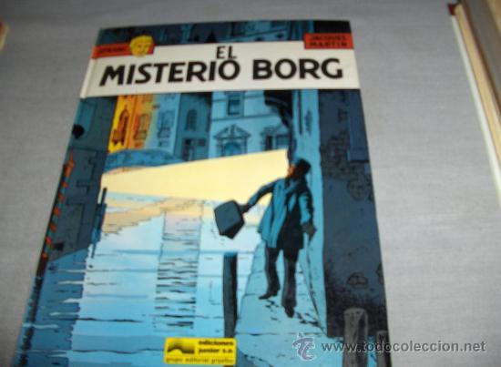 LEFRANC Nº 3 EL MISTERIO BORG. GRIJALBO 1986. . (Tebeos y Comics - Grijalbo - Lefranc)