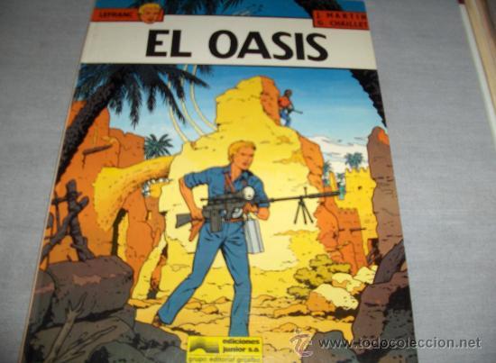 LEFRANC Nº 7 EL OASIS. GRIJALBO 1987. DIFÍCIL!!!!!!!!!! (Tebeos y Comics - Grijalbo - Lefranc)