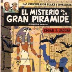 Cómics: COMIC LAS AVENTURAS DE BLAKE Y MORTIMER Nº1 EL MISTERIO DE LA GRAN PIRAMIDE. Lote 33497537