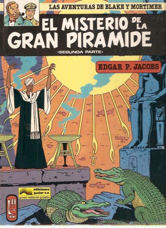 COMIC LAS AVENTURAS DE BLAKE Y MORTIMER Nº2 EL MISTERIO DE LA GRAN PIRAMIDE (Tebeos y Comics - Grijalbo - Blake y Mortimer)