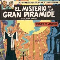 Cómics: COMIC LAS AVENTURAS DE BLAKE Y MORTIMER Nº2 EL MISTERIO DE LA GRAN PIRAMIDE. Lote 33497545