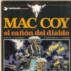 Cómics: COMIC MAC COY Nº 9 EL CAÑON DEL DIABLO. Lote 33498974