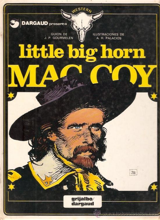COMIC MAC COY Nº 8 LITTLE BIG HORN (Tebeos y Comics - Grijalbo - Mac Coy)