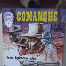 Comics : COMANCHE LOS LOBOS DE WYOMING -TAPA DURA . Lote 33736779