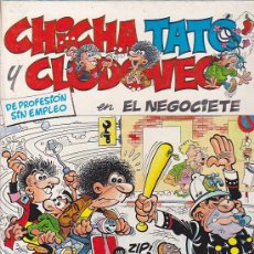 Cómics: COMIC CHICHA TATO Y CLODOVEO Nº 3 . Lote 33752103