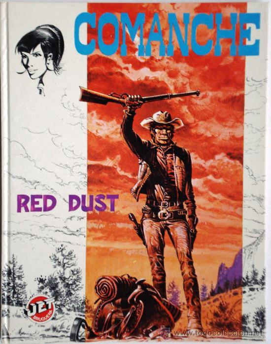 COMANCHE I - HERMANN & GREG- JET BRUGUERA Nº 4 1ª PRIMERA EDICIÓN 1983 TAPA DURA COLECCIONISTAS (Tebeos y Comics - Grijalbo - Comanche)