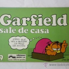 Cómics: GARFIELD SALE DE CASA - NUMERO 9 - COMIC JIM DAVIS - DEPOSITO LEGAL 1987 - GRIJALBO. Lote 33806417