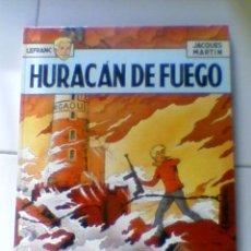 Cómics: : LEFRANC. Nº 2 HURACAN DE FUEGO 1986 GRIJALBO JUNIOR. *C16. Lote 35399018