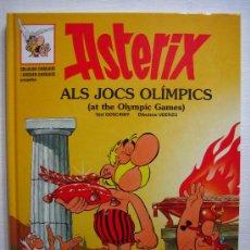Cómics: +++ ASTERIX ALS JOCS OLIMPICS - EDITORIAL GRIJALBO-DARGAUD - EDICION AÑO 1998 (CATALÁN E INGLES). Lote 33961196