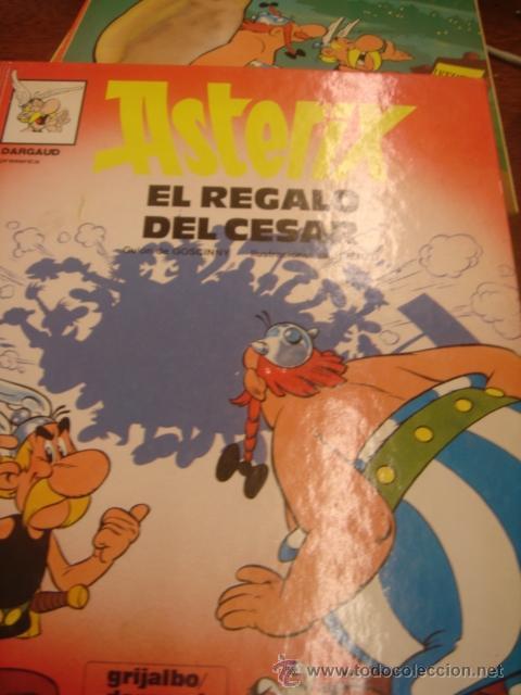 EL REGALO DEL CESAR (Tebeos y Comics - Grijalbo - Asterix)