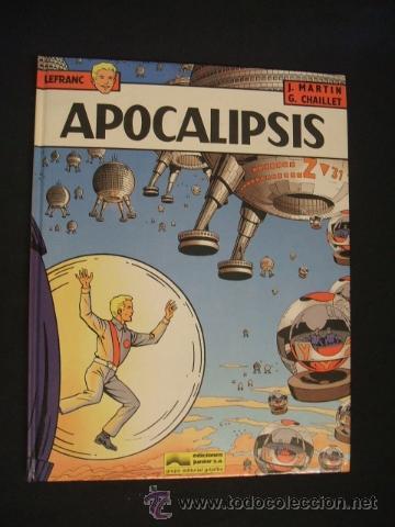 LEFRANC - Nº 10 - APOCALIPSIS - GRIJALBO - EXCELENTE ESTADO, COMO NUEVO - (Tebeos y Comics - Grijalbo - Lefranc)