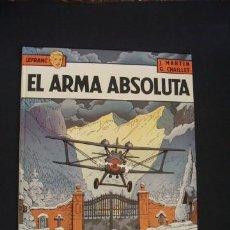 Cómics: LEFRANC - Nº 8 - EL ARMA ABSOLUTA - GRIJALBO - EXCELENTE ESTADO, COMO NUEVO - . Lote 34341516