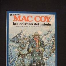 Cómics: MAC COY - Nº 13 - LAS COLINAS DEL MIEDO - GRIJALBO - DARGAUD - EXC. ESTADO, COMO NUEVO - . Lote 34341741