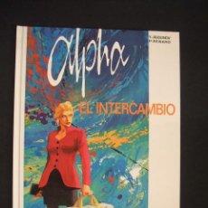 Cómics: ALPHA - Nº 1 - EL INTERCAMBIO - GRIJALBO - EXCELENTE ESTADO, COMO NUEVO - . Lote 34343076
