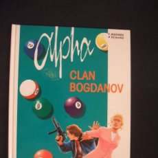 Cómics: ALPHA - Nº 2 - CLAN BOGDANOV - GRIJALBO - EXCELENTE ESTADO, COMO NUEVO - . Lote 34343086