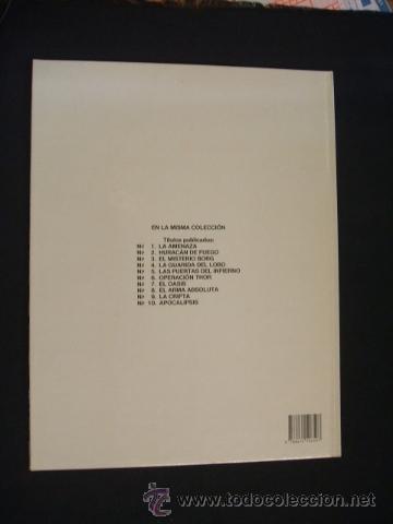 Cómics: LEFRANC - Nº 10 - APOCALIPSIS - GRIJALBO - EXCELENTE ESTADO, COMO NUEVO - - Foto 4 - 34341447