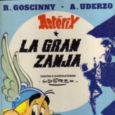 Cómics: ASTERIX - LA GRAN ZANJA - GOSCINNY / UDERZO - GRIJALBO DARGAUD - 1980. Lote 34491443