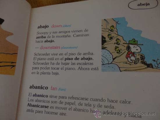 Cómics: GRAN DICCIONARIO DE CARLITOS (español – Inglés) COMPLETO de A a Z en 1 tomo de 444 págs. - Foto 6 - 34495600