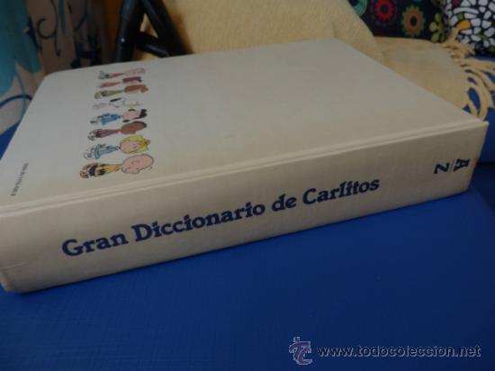Cómics: GRAN DICCIONARIO DE CARLITOS (español – Inglés) COMPLETO de A a Z en 1 tomo de 444 págs. - Foto 10 - 34495600