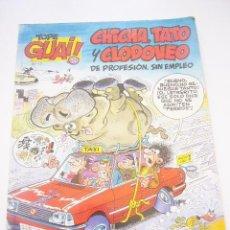 Cómics: TOPE GUAI 12 - CHICHA TATO Y CLODOVEO - IBAÑEZ - JUNIOR GRIJALBO C8. Lote 34665109