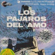 Comics : VALERIAN Nº 4. LOS PÁJAROS DEL AMO. TAPAS DURAS.. Lote 34606525