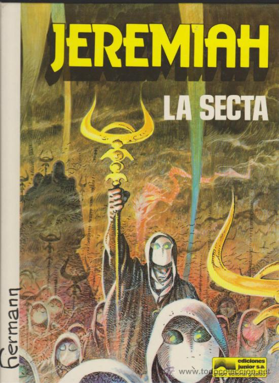JEREMIAH Nº 6. LA SECTA. TAPAS DURAS. (Tebeos y Comics - Grijalbo - Jeremiah)