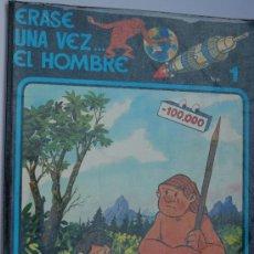 Cómics: ERASE UNA VEZ .. EL HOMBRE. Nº 1. EDICIONES JUNIOR. AÑO 1979. .. Lote 35039731