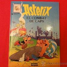 Cómics: ASTERIX Nº 10. EL COMBAT DE CAPS. TAPA DURA. EN VALENCIA. Lote 35036880