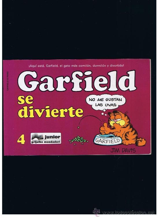 GARFIELD Nº 4 - SE DIVIERTE - GRIJALBO (Tebeos y Comics - Grijalbo - Otros)