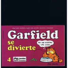 Cómics: GARFIELD Nº 4 - SE DIVIERTE - GRIJALBO. Lote 35210877