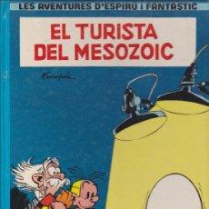 Cómics: COMIC LES AVENTURES D'ESPIROU I FANTASTIC EL TURISTA DEL MOSOZOIC. Lote 35253058