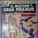 Cómics: EL MISTERIO DE LA GRAN PIRAMIDE. PRIMERA PARTE. EL PAPIRO DE MANETON. BLAKE MORTIMER. Lote 35305460