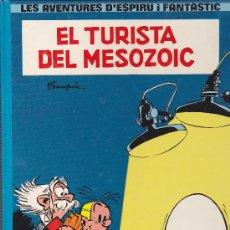 Cómics: COMIC LES AVENTURES D'ESPIROU I FANTASTIC EL TURISTA DEL MOSOZOIC. Lote 35315756