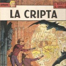 Cómics: COMIC TAPA DURA LEFRAN N9 LA CRIPTA. Lote 35387664