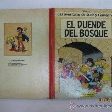 Cómics: LAS AVENTURAS DE JUAN Y GUILLERMO. EL DUENDE DEL BOSQUE.Nº 3. EDICIONES JUNIOR. GRUPO GRIJALBO.1986.. Lote 35571953