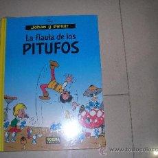 Cómics: JOHAN Y PIRLUIT. LA FLAUTA DE LOS PITUFOS . NORMA. SIN DESPRECINTAR . NUEVO. Lote 38197705