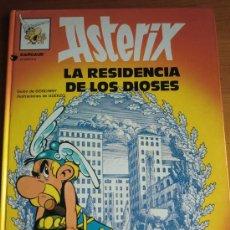 Cómics: TEBEO CÓMIC ASTERIX: LA RESIDENCIA DE LOS DIOSES (1.990) DE GOSCINNY & UDERZO. EDITORIAL GRIJALBO. Lote 35689269