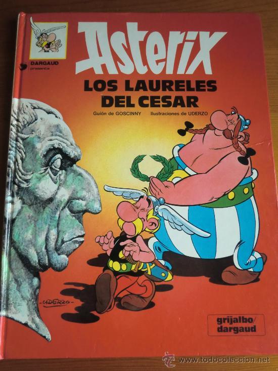 TEBEO CÓMIC ASTERIX: LOS LAURELES DEL CÉSAR (1990) DE GOSCINNY & UDERZO. EDITORIAL GRIJALBO (Tebeos y Comics - Grijalbo - Asterix)