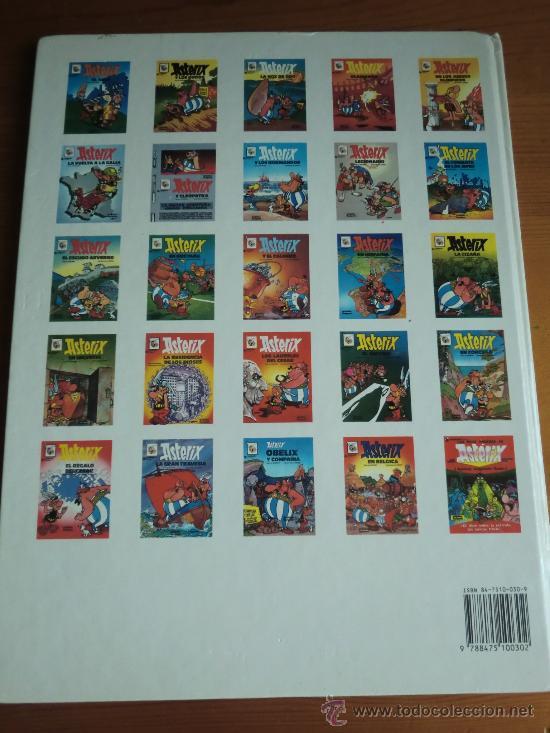 Cómics: Tebeo cómic ASTERIX: LOS LAURELES DEL CÉSAR (1990) de Goscinny & Uderzo. Editorial Grijalbo - Foto 2 - 35689339