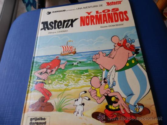 ASTERIX NUM. 9 ASTERIX Y LOS NORMANDOS - GRIJALBO - TAPA DURA AÑO 1985 (Tebeos y Comics - Grijalbo - Asterix)