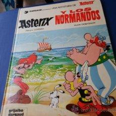 Cómics - ASTERIX NUM. 9 ASTERIX Y LOS NORMANDOS - GRIJALBO - TAPA DURA AÑO 1985 - 35714623
