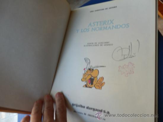Cómics: ASTERIX NUM. 9 ASTERIX Y LOS NORMANDOS - GRIJALBO - TAPA DURA AÑO 1985 - Foto 2 - 35714623