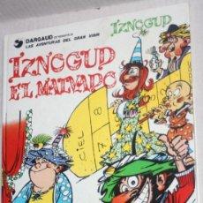 Cómics: LAS AVENTURAS DEL GRAN VISIR IZNOGUD (GRIJALBO) Nº5: IZNOGUD EL MALVADO.. Lote 36557042