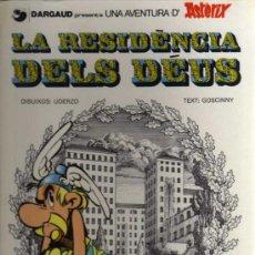 Cómics: ASTERIX - LA RESIDÈNCIA DELS DÉUS - UDERZO/GOSCINNY - 1982 - GRIJALBO/DARGAUD - EN CATALÁN. Lote 36002229