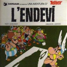 Cómics: ASTERIX - L'ENDEVÍ - UDERZO/GOSCINNY - 1982 - GRIJALBO/DARGAUD - EN CATALÁN. Lote 36002801