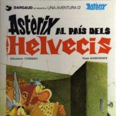 Cómics: ASTERIX AL PAIS DELS HELVÈCIS - UDERZO/GOSCINNY - 1984 - GRIJALBO/DARGAUD - EN CATALÁN. Lote 36002903