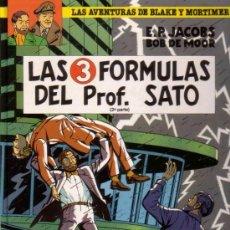 Cómics: BLAKE Y MORTIMER # 12 - LAS 3 FORMULAS DEL PROFESOR SATO PARTE 2 (GRIJALBO-JUNIOR,1991) - TAPA DURA. Lote 36056177
