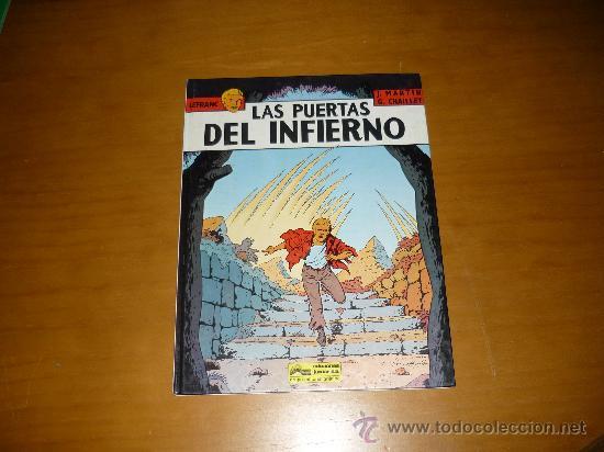LEFRANC Nº 5 LAS PUERTAS DEL INFIERNO.IMPECABLE GRIJALBO PERFECTO (Tebeos y Comics - Grijalbo - Lefranc)